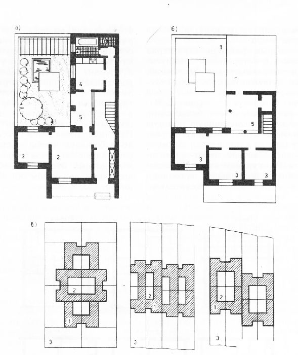 Двухэтажная блок-квартира и