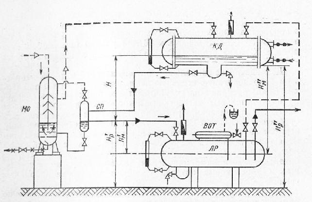 Схема монтажа конденсатора