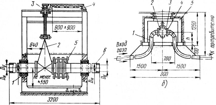 Схема Установки Запорной Газовой Апаратуры В Колодце