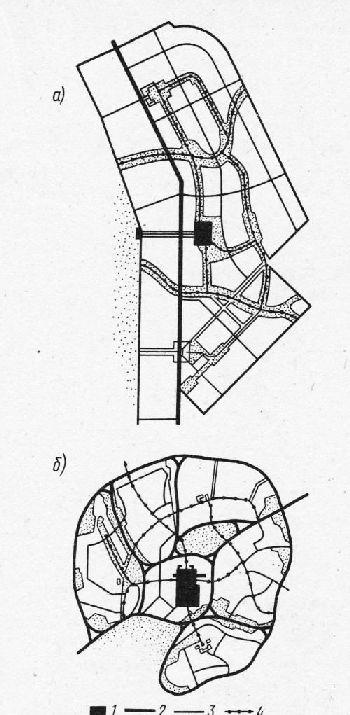 планировочной структуре;