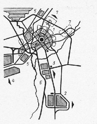 Планировочная структура ТПК